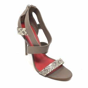 Women's Charles Jourdan Paris Sandals Heels Sz 9M